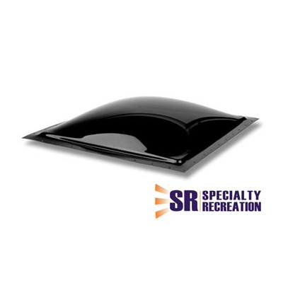 RV Skylight Lens - Specialty Recreation - Exterior - 14 x 14 x 3.5 Inches - Smoke