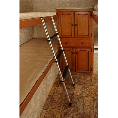 Bunk Ladder - Stromberg Carlson 4-Step Aluminum Bunk Ladder Silver