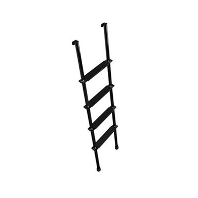 Bunk Ladder - Stromberg Carlson 4-Step Aluminum Bunk Ladder Black