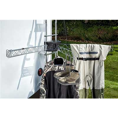RV Clothesline - Stromberg Carlson Extend-A-Line Clothes Dryer 6 Independent Arms