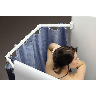 Extend-A-Shower - Stromberg Carlson - 35 To 42 Inch Wide Showers - White