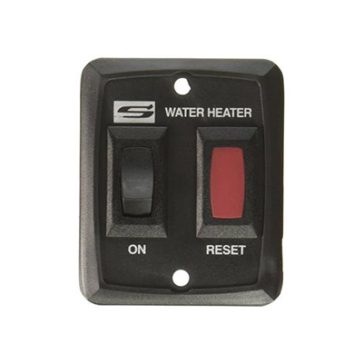 RV Water Heater Power Switch - Suburban - DSI Models - Black