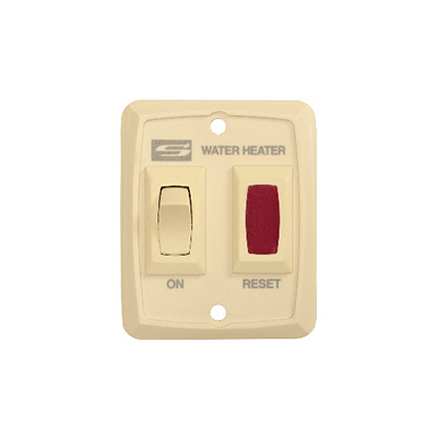 RV Water Heater Power Switch - Suburban - DSI Models - Cream