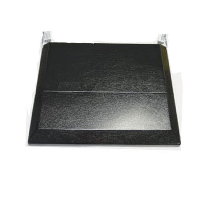 Range Cover - Suburban Folding Stove Top Cover Black
