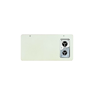 RV Furnace Door - Suburban SF-Series Exterior Access Furnace Door Polar White