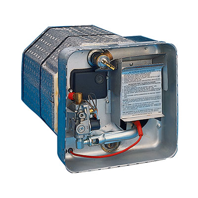 RV Water Heater - Suburban - 6G - Propane & Electric - DSI