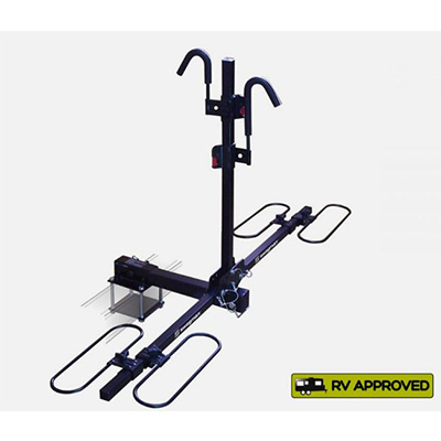 Bike Carrier - Swagman - Traveler XC2 - Receiver Hitch Or Square Bumper
