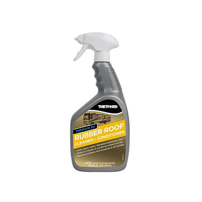 Rubber Roof Cleaner - Thetford Non-Toxic Rubber Roof Cleaner & Conditioner 32 Ounces