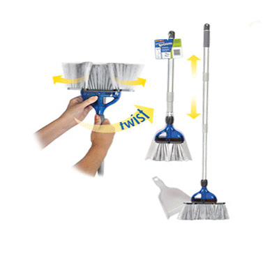 Compact Broom - Thetford StorMate RV Broom With Dustpan