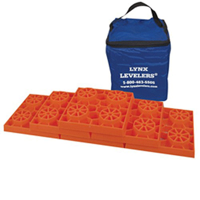 Leveling Blocks - Tri-Lynx Stackable Leveling Blocks With Storage Bag 10 Per Pack