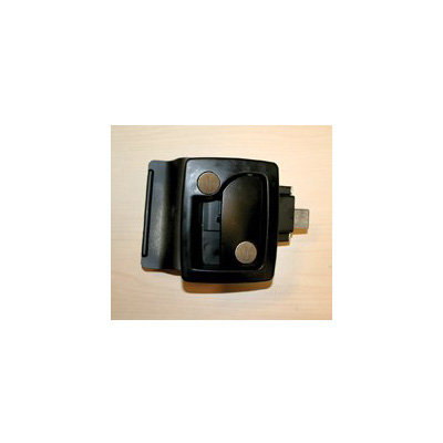 RV Door Latch - TriMark RV Door Latch With Keyed Deadbolt Black