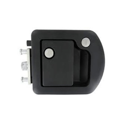 Motorhome Door Latch - TriMark - Entrance Door - Includes Deadbolt - Black