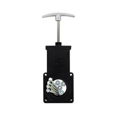 Waste Drain Valves - Valterra Bladex Waste Valve With Aluminum Handle - 3