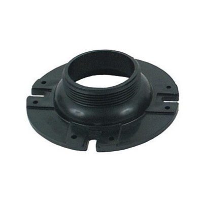 "Toilet Floor Flange - Valterra ABS Toilet Floor Flange With 3"" Male Threads - Black"