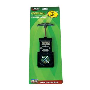 Waste Drain Valves - Valterra Bladex Waste Valve With Plastic Handle - 3