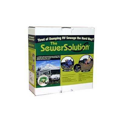 Sewer Pump - Valterra Sewer Solution Complete Waste Discharge System