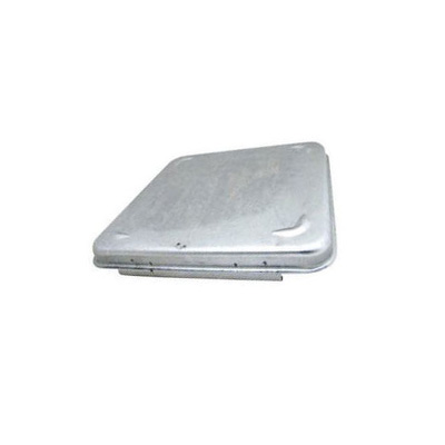 RV Roof Vent Lid - Ventline Metal Roof Vent Lid Fits Ventadome Vents Silver