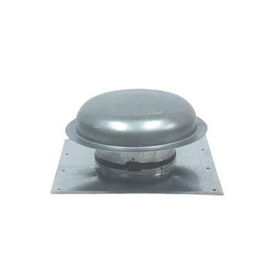 Sewer Vent Cap - Ventline Galvanized-Steel Sewer Vent Cover With Square Base