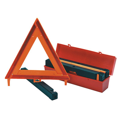 Safety Signs - James King & Company Warning Triangles With Case 3 Per Pack