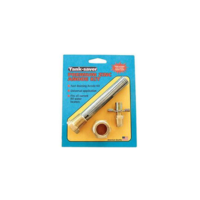 RV Water Heater Anode Rod - Western Lesisure Products - Universal Fit - Zinc