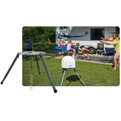 Satellite Antenna Mount - Winegard Tripod Satellite Antenna Platform With Anchor