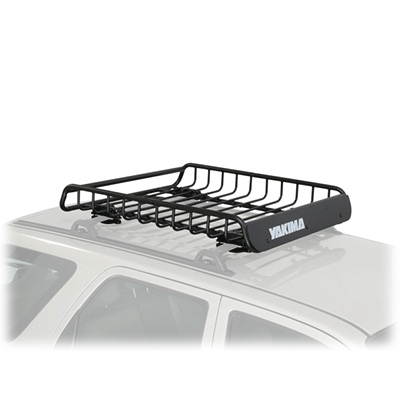 Roof Rack Cargo Basket - Load Warrior Rooftop Cargo Basket Black