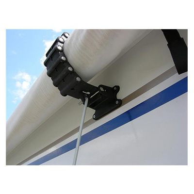 Awning Clamps - Camco - Roller Tube - Black - 1 Per Pack