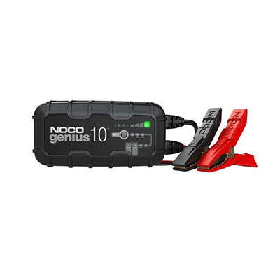 Battery Charger - Noco Genius 10A Battery Charger For 6V & 12V Batteries