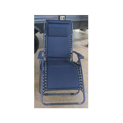 Camping Chairs - Ming's Mark Zero Gravity Recliner XL Blue
