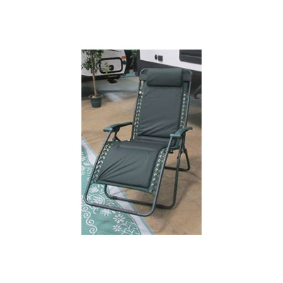Camping Chairs - Ming's Mark Zero Gravity Recliner XL Green