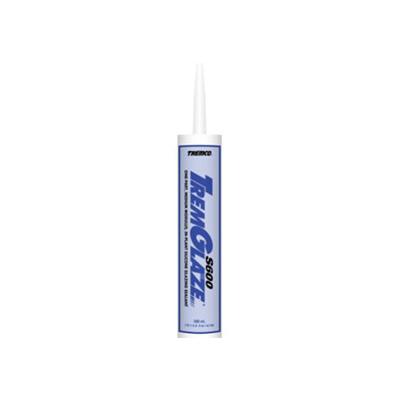 Caulking - TremGlaze S600 Silicone Glazing Sealant 10.1 Ounce Tube - Clear
