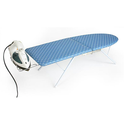 Compact Ironing Board - Camco - Folding - Includes Iron Rest And Fabric Cover