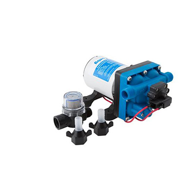 Water Pumps - Aqua Pro - 12V - 3 GPM - Strainer And Fittings Included