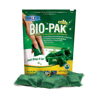 Holding Tank Tablets - Bio-Pak Enzyme Deodorizer & Waste Digesters 10 Per Pack