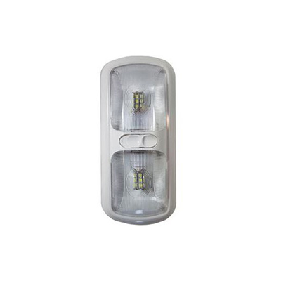 Interior 12V Lights - Arcon LED Double-Dome Light Includes Switch - Bright White