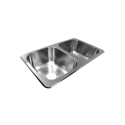 Kitchen Sink - Lasalle Bristol Double-Bowl Kitchen Sink Stainless Steel