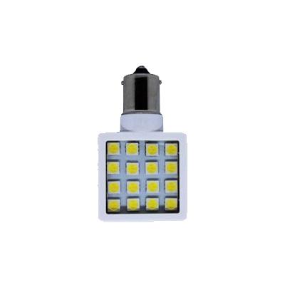 LED Light Bulbs - Green Long Life 1156/1141 Base Bulb 8-30V Natural White - 1 Per Pack