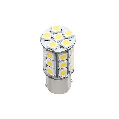 LED Light Bulbs - Green Value 1156/1141 Base Tower Bulb 10-24V Warm White - 6 Per Pack