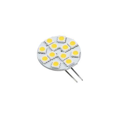 LED Light Bulbs - Green Value G4 L Back Pins Bulb 8-30V Natural White - 1 Per Pack