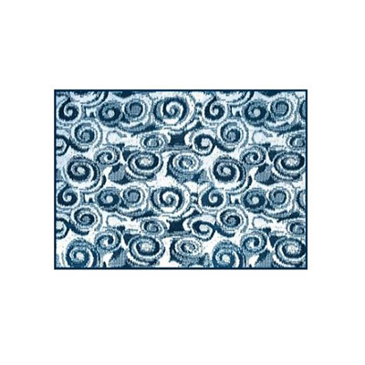 Camping Mats - Camco Swirl-Print Camping Mat 8' x 16' Blue & White
