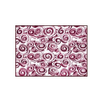 Camping Mats - Camco Swirl-Print Mat 8' x 16' - Burgundy & White