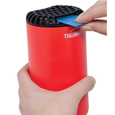 Mosquito Repellent - Thermacell Patio Shield 15 Foot Zone Red
