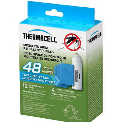 Mosquito Repellent - Thermacell Patio Shield Refills 15 Foot Zone