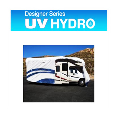 Class C Motorhome Cover - UV Hydro Designer Series Cover With Storage Bag 26'1