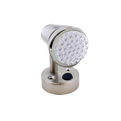 Reading Lights - Diamond Group LED Reading Light With Switch - 12V - Silver
