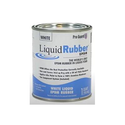 Roof Repair - Pro Guard Moisture Cure Liquid Rubber 1 Gallon - White