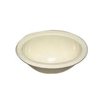 RV Bathroom Sink - Lasalle Bristol - Plastic - Oval Shape - Parchment