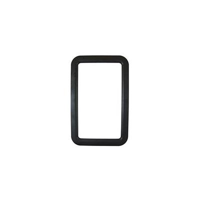 RV Entrance Door Window Frame - Valterra Exterior Side Plastic Window Frame - Black