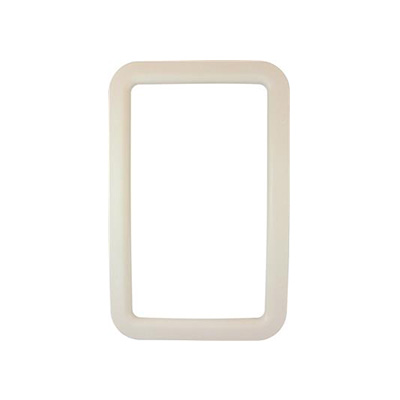 Entrance Door Window Frame - Valterra Exterior Side RV Door Window Frame Ivory