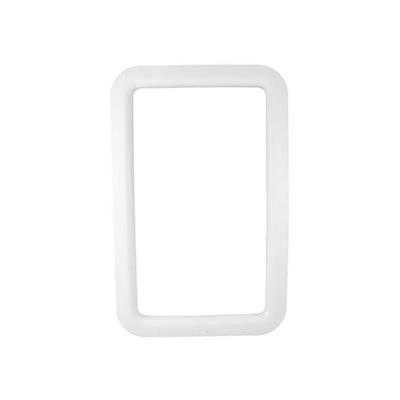 RV Entrance Door Window Frame - Valterra Interior Side Plastic Window Frame - White